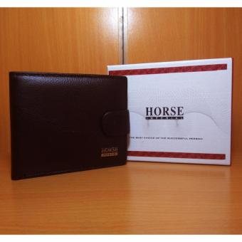 Imperial Horse Fashion Wallet Dompet Pria RD 1263 Kulit Asli Import Original Black .