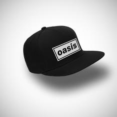 IndoClothing Topi Snapback Oasis - Hitam