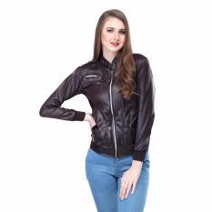 Inficlo Jaket Wanita/fashion wanita/best seller SDNx995 Brown