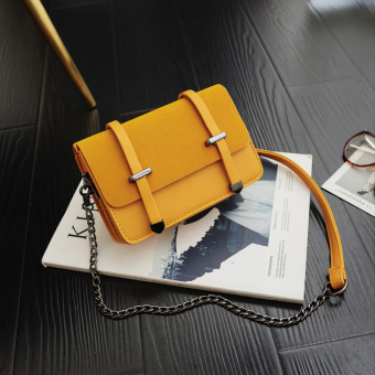 Ins Korea Fashion Style perempuan pouch tas (Kuning)