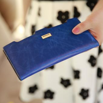 Irak babe Korea Fashion Style baru Dompet (Safir biru)