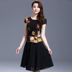 Besar Rok Korea Fashion Style Gadis Gaun Sifon Anak Perempuan. Source · Jahitan baru style