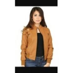 jaket fashion semi kulit-wanita