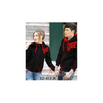 Harga kyoko fashion jaket couple stripe blacak PriceNia com Source · JAKET QING BLACK COUPLE
