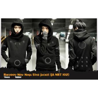 Jaket Sweater Hoodie Anime Naruto Rikudou New Ninja Style Jacket (JA NRT 102) Best