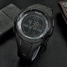 Jam Tangan Pria Sport Digitec Suunto Full Black Original Water Resist - 937Ea7