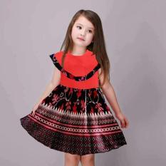 J&C Tabitha Kids Batik / Gaun Pesta Anak / Baju Batik Anak / Dress Batik Anak