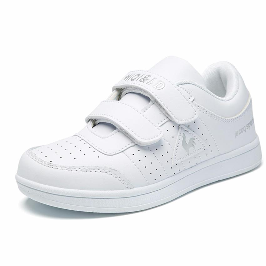 Jarma Sepatu Sneakers Anak Laki Olahraga Sekolah Putih