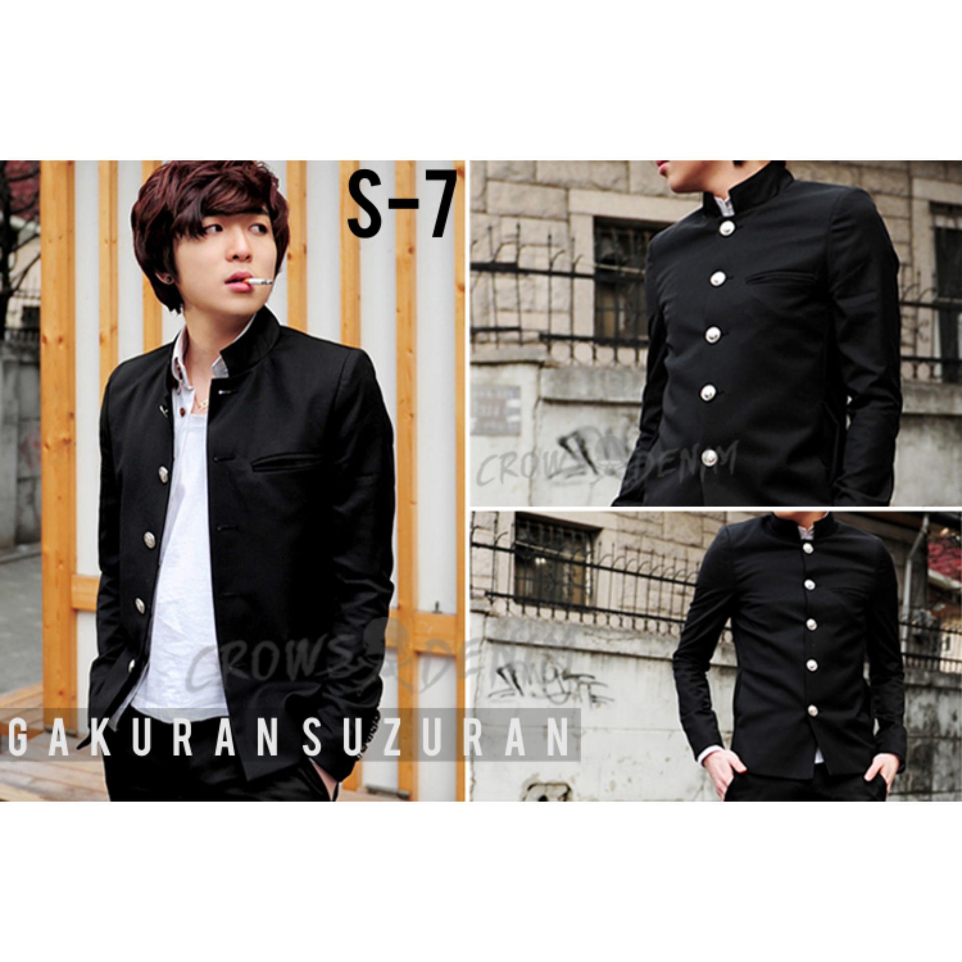 Azure Fashion Blazer Arul Navy Atasan Pria Jas Daftar Harga Semi Formal Stretch Grey Blz 723 Flash Sale Exclusive Jacket Gakuran Suzuran