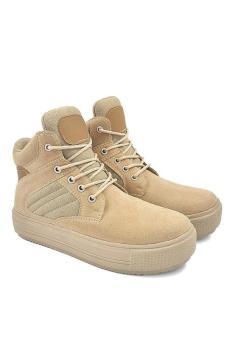 Java Seven MTS 002 Sepatu boots wanita - sintetis - Cantik   menarik (CREAM) d40e45647a