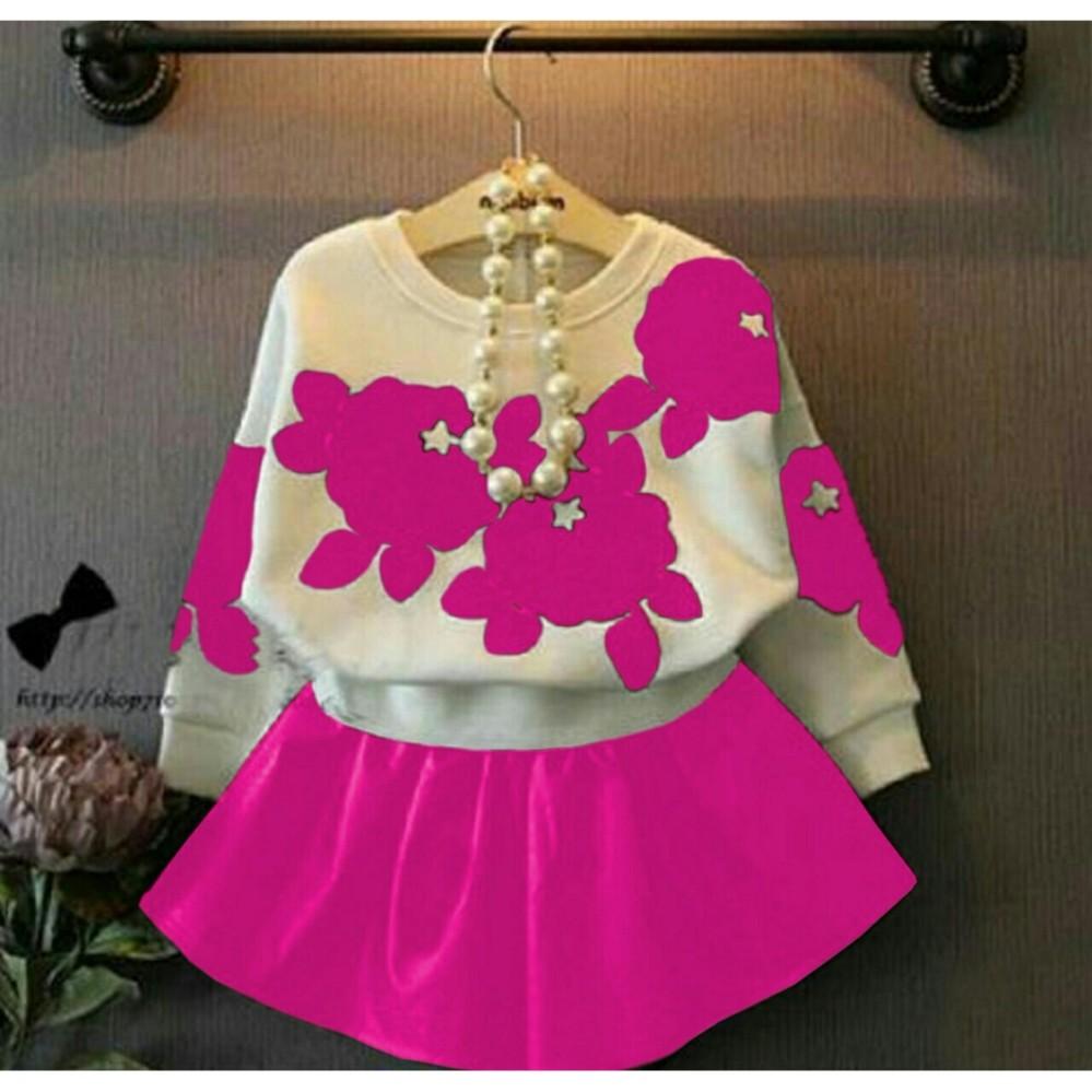 Jc  - Dress Anak Polka / Baju Anak Murah / Pakaian Anak Perempuan