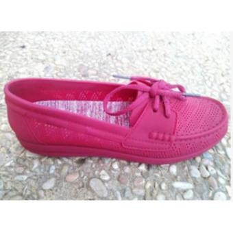 Jelly Shoes Bara Bara Sepatu Wanita Vintage Tali Karet DD789ELS6W