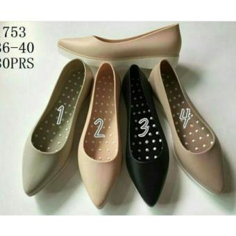 Jelly Shoes Model Heels / hak berkualitas Import