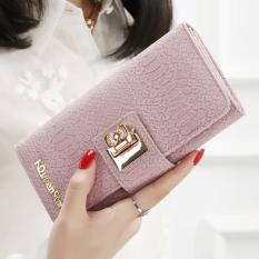 ... panjang wanita Amart dompet tas kulit tempat kartu berwarna biru langit - Internasional. Source · Jepang dan Korea Selatan perempuan gesper busur dompet ...