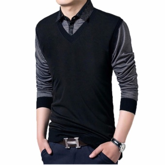 Jfashion Men's Knit Vest Rompi Rajut Pria - Ian