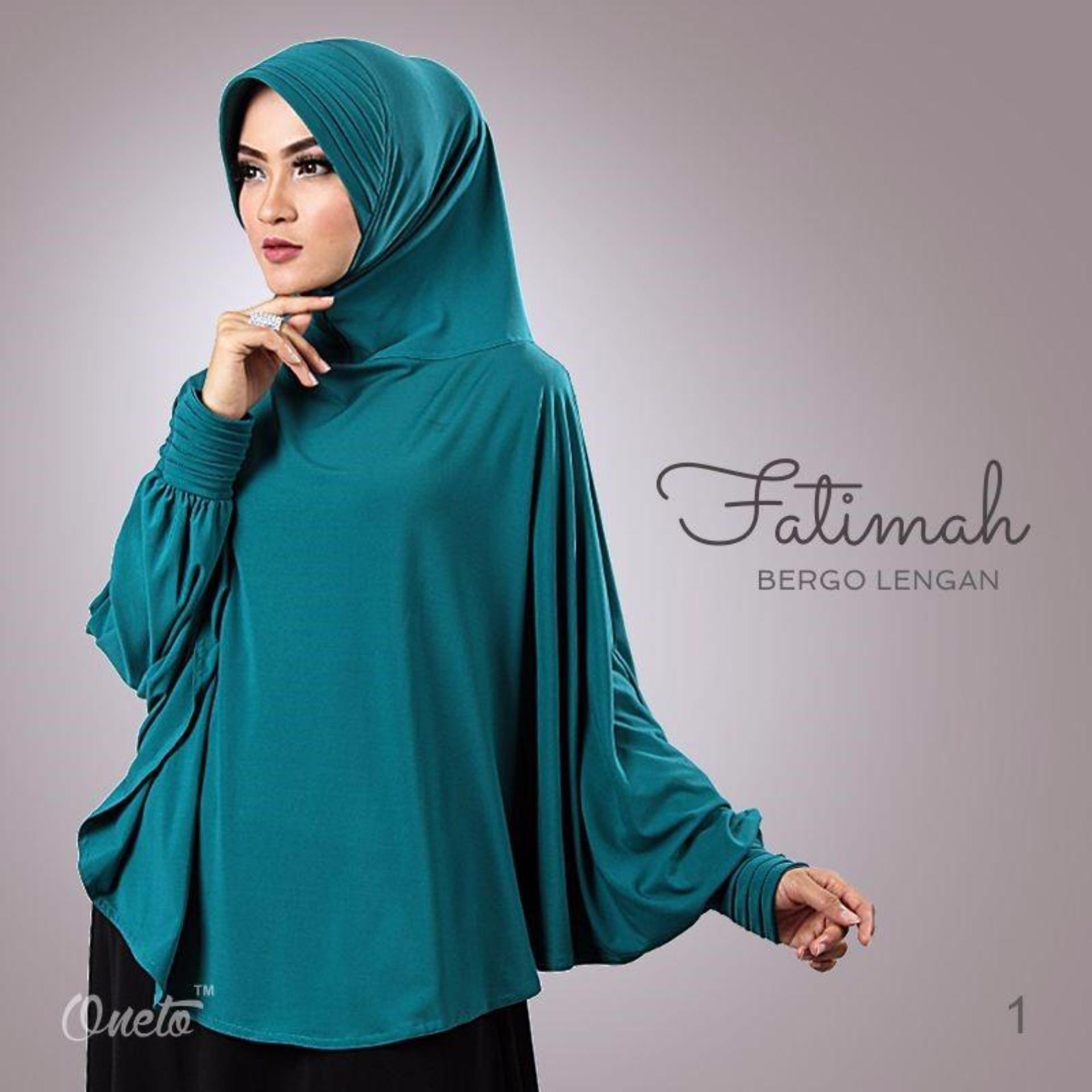 Periksa Peringkat Jilbab Instan Kerudung Hijab Bergo Lengan Fatimah Tosca