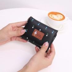 Jims Honey – Dompet Lipat Kecil Wanita – Pandora Wallet (Black)