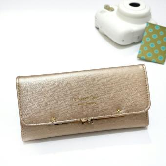 Detail Gambar Jims Honey - Import Wallet - Casey Wallet (Gold) Terbaru