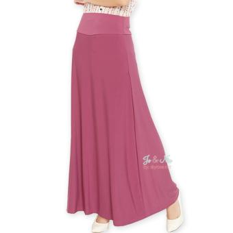 JO & NIC A-Line Maxi Skirt Rok Hijab - Fit to XL - DustyPink