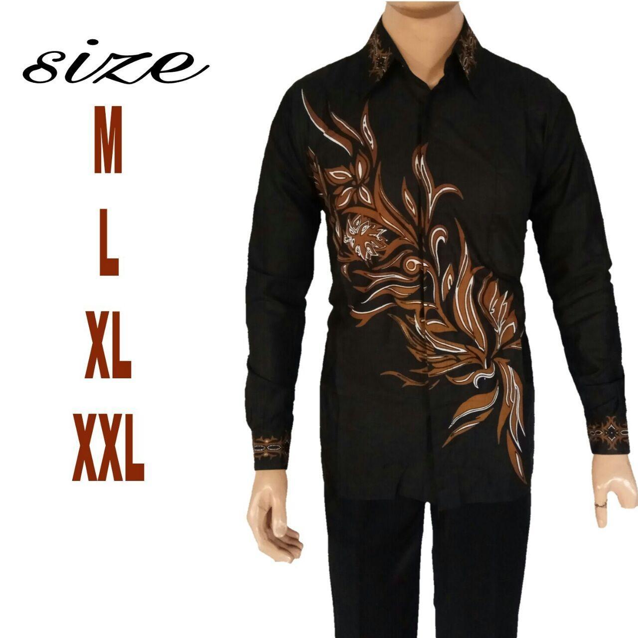 Batik Pekalongan Pria Panjang: HEMAT Jual Baju Batik Pria Baju Batik Modern Lengan