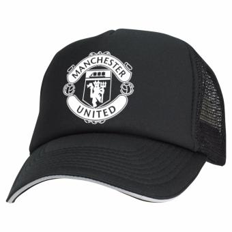 Just Cloth Topi Trucker Manchester United - Hitam
