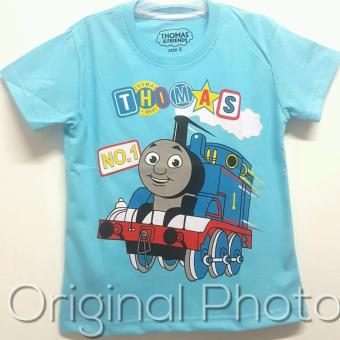 Kaos Anak Karakter - Thomas Blue