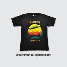 Blacklabel Kaos Hitam BL LED ZEPPELIN 21 T-Shirt Rock Star Metal Band Gothic -