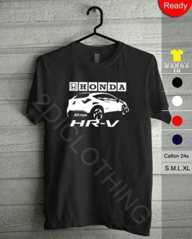 Kaos Honda Hr-V / Kaos All New Honda Hr-V / Kaos Hr