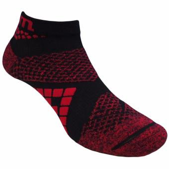 Kaos kaki Marel Socks Sport Sock MA1P-16-RUN006 Black/Red