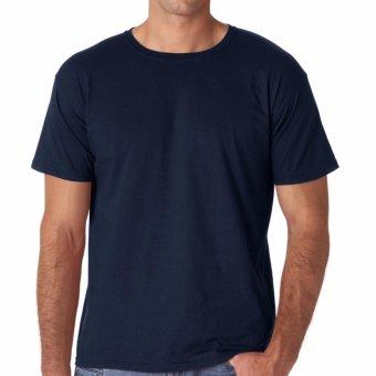 Kaos55 Kaos T-Shirt O-Neck Lengan Pendek - Biru Dongker - 2