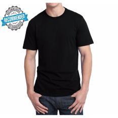 Kaos55 Kaos T-Shirt O-Neck Lengan Pendek - Hitam