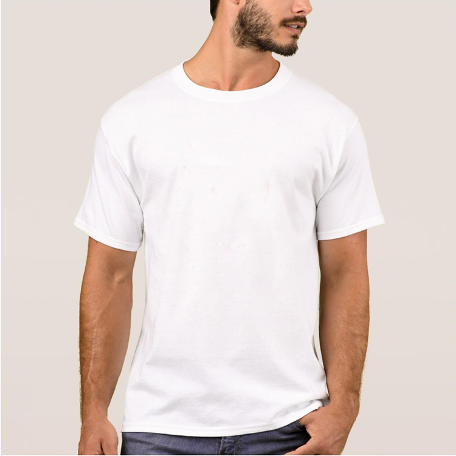 Kaosbro Kaos T Shirt O Neck Lengan Pendek Hijau Spec Dan Daftar Ferrox Unisex All Size Putih