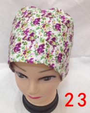 Kapas dicetak pria dan wanita dokter gigi topi topi (Nomor 23)