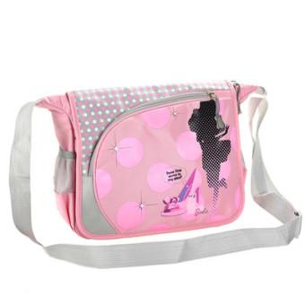 Kebugaran Korea Fashion Style bahu tas sekolah tas selempang (1002 oranye merah muda)
