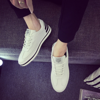 Gambar Kebugaran Korea Fashion Style Musim Panas laki laki sepatu sepatu  BayMini (Putih) 3acea7a11c