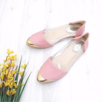 KelinciMadu-Mika Silky Flatshoes-Pink