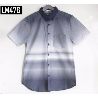 Kemeja Motif Lengan Pendek LM476