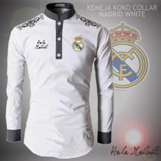 Kemeja Pria Model Koko Bola Madrid