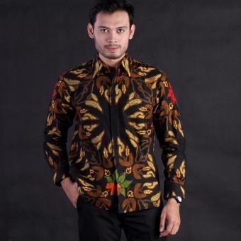 Baju Pria - Kemeja Batik Pria - Kemeja Lengan Panjang Motif