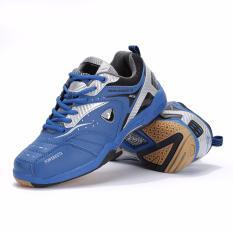 KETA Sepatu Bulutangkis / Badminton / Olahraga KETA 115 - Silver Biru