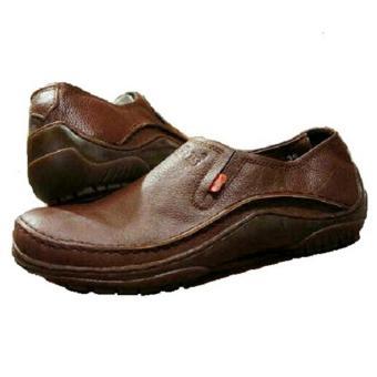 Kickers Sepatu Slip on Boots Pria Kulit Asli Model KC 065 KPY - Kulit Jeruk 5bf516b857
