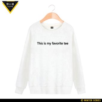 Harga Saya Kim Tae salju konser harus membantu Zhou Bian untuk pria dan wanita (Putih