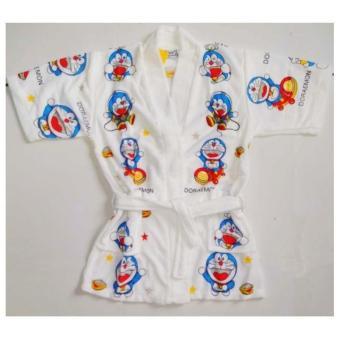 KIMOKD11 - Kimono Handuk Anak Doraemon Star