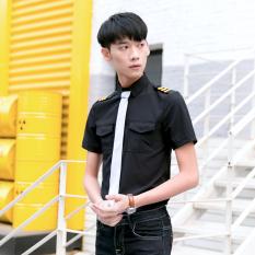 Periksa Peringkat Bar catwalk pertunjukan KTV overall seragam (Hitam) Harga Termurah