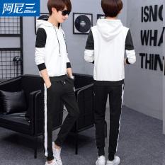 Korea Fashion Style baru remaja berkerudung LOOESN sweater (Putih)