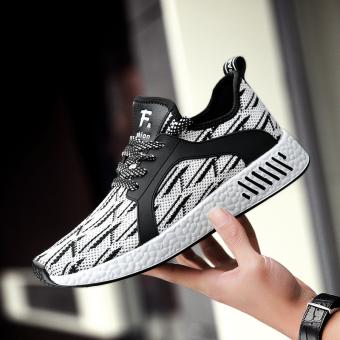 Beli Korea Fashion Style bernapas jala sepatu casual sepatu pria (Putih)  Murah. Daftar Harga Terbaru ... 9f859526a1