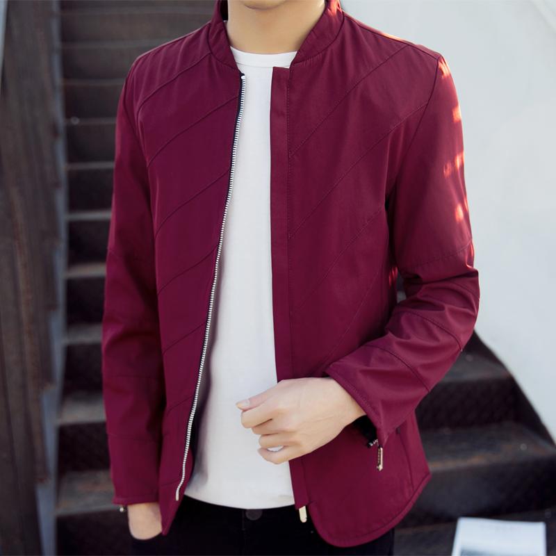 Flash Sale Korea Fashion Style musim semi dan musim gugur baru Slim kasual jaket jaket pria