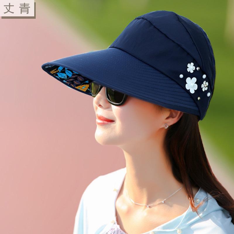 Luar Ruangan Cooljie Tepi Gelombang Musim Panas Topi Topi Topi Source · Korea Fashion Style perempuan model tabir surya musim panas tanpa topi matahari topi