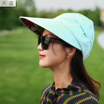 Pelacakan Harga Korea Fashion Style perempuan model tabir surya musim panas  tanpa topi matahari topi ( 088a6b7df3