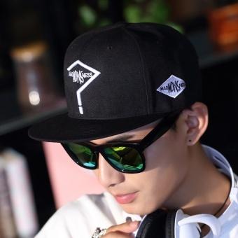 Harga Termurah Korea Fashion Style perempuan tabir surya matahari topi topi  datar topi (Tanda tanya 035a6f8cb9